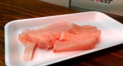 Toro: Fatty tuna belly, simply amazing !
